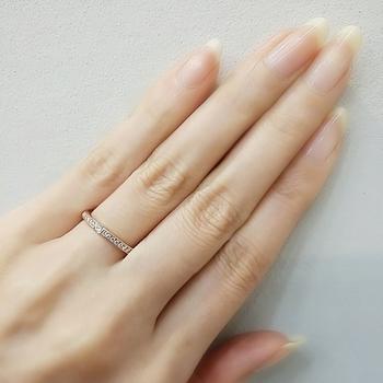 エタニティリングダイヤ記念品10周年婚約結婚指輪 (2).jpg