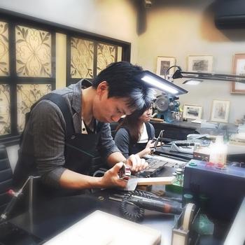 ワークショップ結婚指輪DIY文字入れ自分たちで刻印 広島 (2).jpg